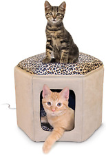 K&H Pet Products K&H Pet Products Thermo-Kitty Sleephouse Cat Cave - Heated or U
