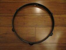 """Drum Hoop - 13"""" 6 Lug Black Drum Hoop - Good Condition!!!!!!"""