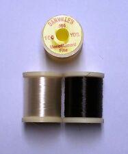 "1 Spool Danville Fine Monofilament (.006"") Pick Color Fly & Jig Tying 100 Yards"