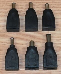 """Multi Size Individual Adapter Only For Targus 800-0084-001 """"A"""" AC Power **READ**"""