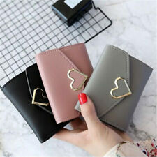Women Girl Leather Wallet Card Holder Coin Purse Clutch Small Cute Handbag US