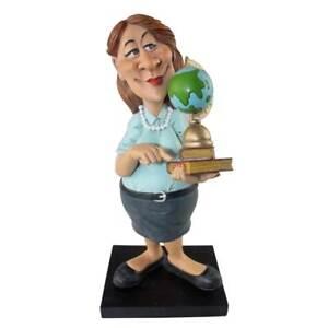 Funny Life - Lehrerin mit Globus