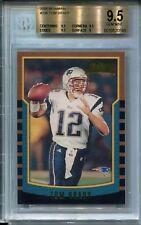 2000 Bowman Football #236 Tom Brady Rookie Card RC BGS 9.5