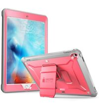 iPad 9.7 2017 Case SUPCASE UBPro Full Rugged Body With Built in Screen Protector Pink/grey