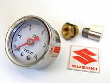 Suzuki engine OIL PRESSURE GAUGE KIT guage  gs1100 gs1000 gs850 gs750 gs650 cafe