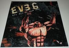 EVE 6~It's All In Your Head~Promo Poster Flat~12x12~Original 2003 NM Condition