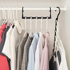 10x Space Saver Saving Magic Hanger Clothes Magic Closet Organizer Hook UK