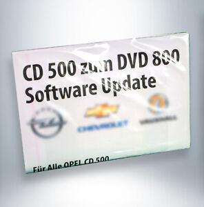 OPEL CD 500 zu DVD 800 Software Update / Upgrade