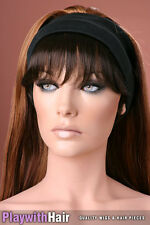 SIMPLE! Fringe Piece Bangs Darkest Brown