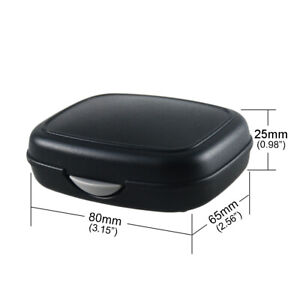Hearing Aid Case Hard Small Storage Box for BTE, ITC, CIC Protector
