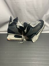New listing American Ice Force Black Leather Lace Up Hockey Skates Men's Size 9