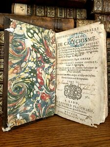 1709 GENERAL INSTRUCTIONS IN THE FORM OF CATECHISM