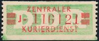 DDR-Dienst, B 31 a I J, Original, Neubrandenburg, tadellos postfrisch, Mi. 100,-