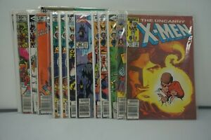 MARVEL COMICS (49) LOT OF 15 THE UNCANNY X-MEN COMICS