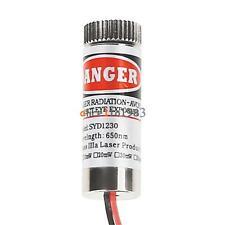 2Pcs 650nm 5mW Red Laser Line Module Focus Adjustable Laser Head 5V Laser Module