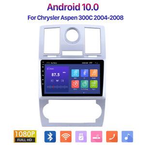 Android 10.1 2+16G Car Radio GPS Head Unit Player For Chrysler Aspen 300C 04-08