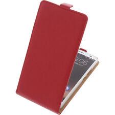 Funda para Oukitel K6000 Plus protectora Teléfono Móvil con Tapa Carcasa Roja