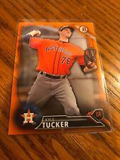 2016 Bowman Orange Paper Prospect Kyle Tucker 8/25 Houston Astros
