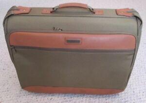 "Hartmann Intensity 22"" Mobile Traveler Wheeled Garment Bag 501 Coffee Style 3225"