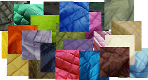 Quilted Waterproof Fabric 4oz Jackets Coats Pet Clothing Dog Beds Free Samples