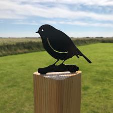 Robin Fence Topper British Wildlife Bird Nature Post Top