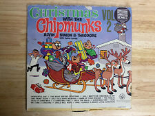 Christmas With The Chipmunks Vol.2 Vinyl Record LP - LRP-3334 - 1963
