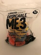 Despicable Me 3 Hilarious Hockey Minions 2017 McDonald's Happy Meal Toy 11 NIP