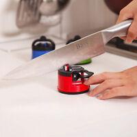 Sharpener Grind Stone Blades Sharpening Kitchen Tool Gadget With Suction