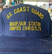 New hat cap Uscg Us Coast Guard Group Air Station Corpus Christi Texas