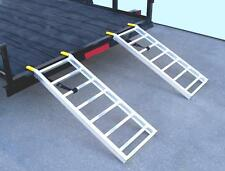 HD Shed Ramps Pair for Lawn Tractor,Mowers,ATV's,Blowers. 2000 LB Cap.16x44