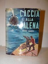 Pesca René Gardi: Caccia alla Balena, Baldini Castoldi Artico Cetacei illustrato