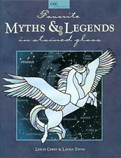 Favorite Myths and Legends Stained Glass Book, Books