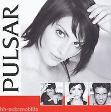 3009SEI Seiko Pulsar Uhren Prospekt 2001 Uhrenkatalog brochure watches