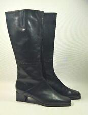 GABOR Weitschaftstiefel Damen schwarz Leder Gr. 42,5 NEU