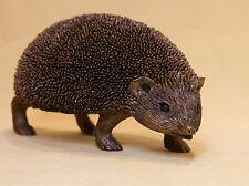 More details for frith sculpture hedgehog snuffles bronze  thomas meadows