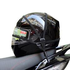 Motorcycle Luggage Cargo Rubber Mesh Net Buckle Helmet Rope For Kawasaki Yamaha (Fits: Bourget's Bike Works)