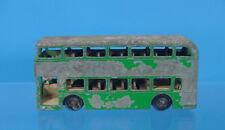 MB-502-VINTAGE LESNEY MATCHBOX SERIES #74 DAIMLER BUS GREEN MADE IN ENGLAND