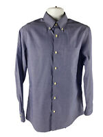 Banana Republic Men's Medium M Shirt Slim Fit Long Sleeve Button Down Non Iron