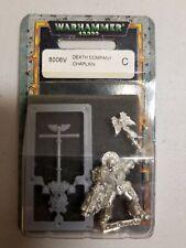 Warhammer 40K Death Company Chaplain (oop metal) Sealed