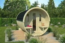 Saunafass Abholbereit ab Lager 300 cm Sauna Terrassen massiv ohne Ofen Ø 204