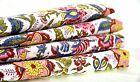 2.5 Yards Cotton Voile Hand Block Print Fabric Natural Dyes Sanganer Indian Art