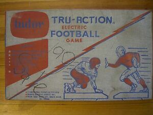 Vintage Tudor Tru-Action ELECTRIC FOOTBALL GAME Model 500 In Original Box