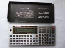 CALCULATRICE SHARP PC-1401