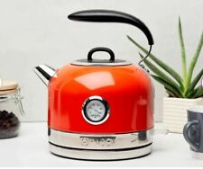 Haden Jersey 1.5L Stainless Steel Cordless Electric Kettle 3000W Marmalade
