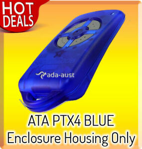 PTX4 Blue Enclosure Grey Button Housing Only