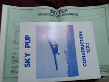 Sky Pup Ultralight Aircraft Constuction Drawings And Manuel