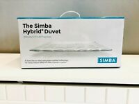 The Simba Hybrid Duvet - Single with outlast and down - Brand New in box