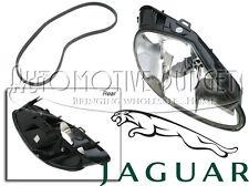 Passenger side (Right) Headlight Lens Assembly w/o Washer Jaguar XK8 XKR NEW OEM