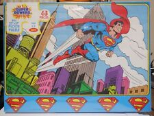 Jaymar Super Powers Superman 63 Piece Floor Puzzle 123020MGL