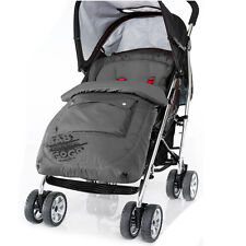 Cosatto G I Jane Baby Go Go Cosytoes Footmuff - Charcoal RRP £49.00